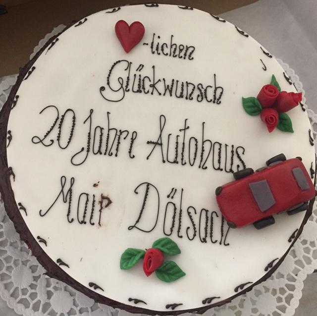 20 Jahre AutoMair - DANKE an alle Kunden!!!