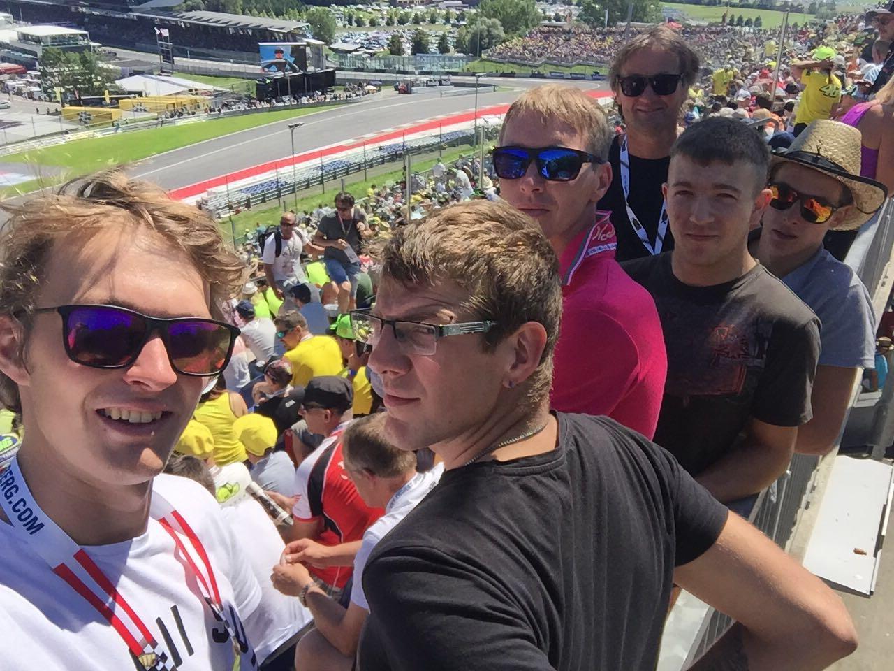 Firmenausflug zur MOTO-GP in Zeltweg
