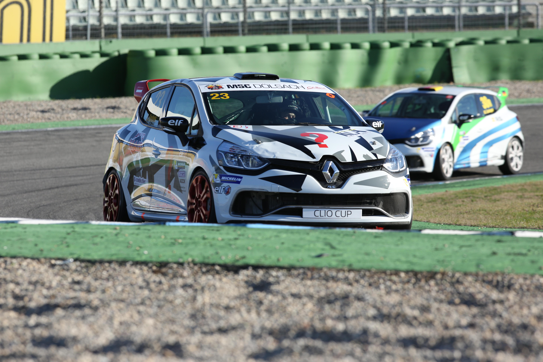 Sandro Soubek startet als Neueinsteiger in den Renault Central Europe Cup